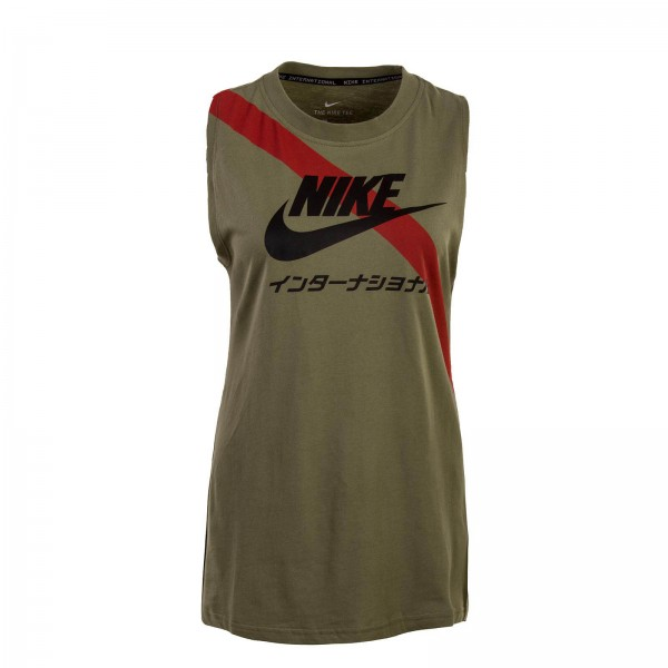 Nike Wmn Top Signal Olive