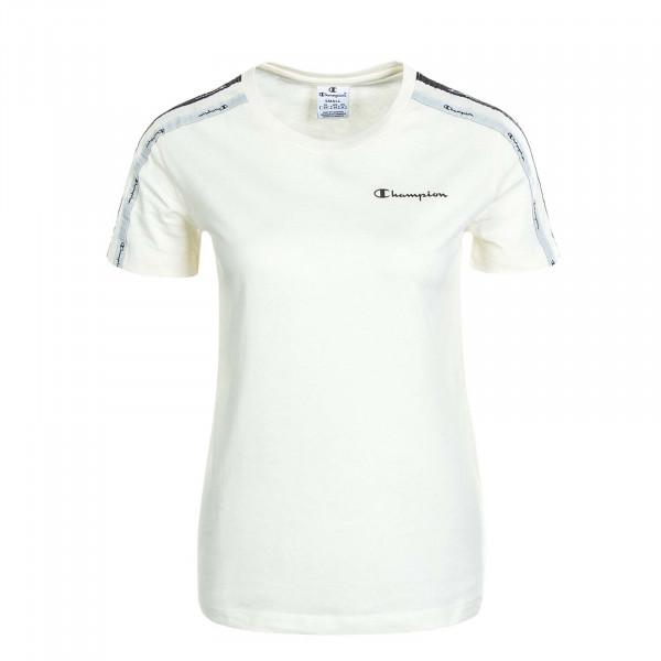 Damen T-Shirt 113086 Off White