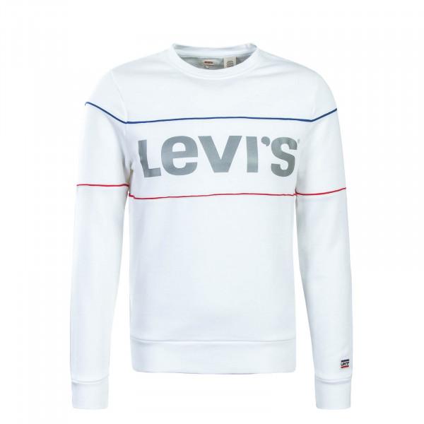 Levis Sweat Logo Piping 69873 White