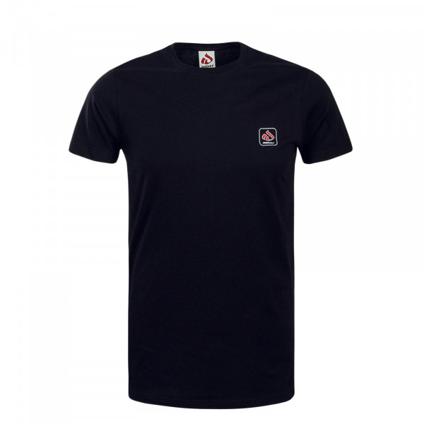 Herren T-Shirt Mini Glyph Black Red