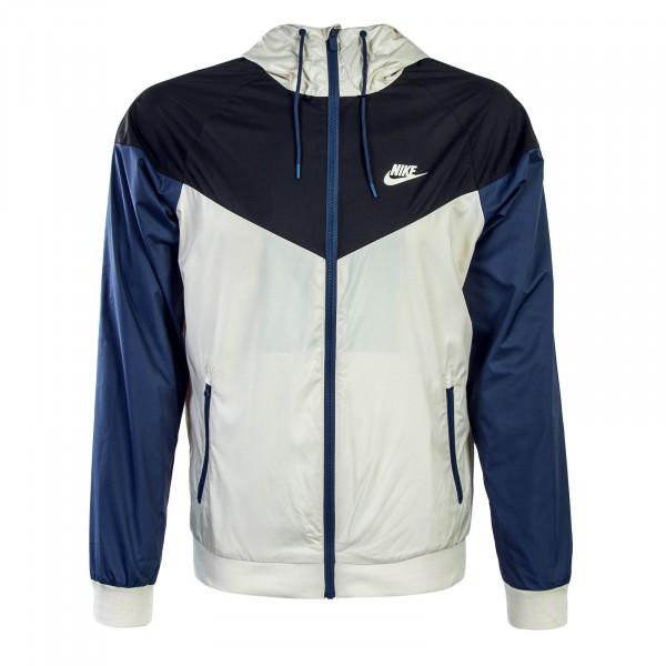 Nike Jkt Windrunner Antra Beige Blue