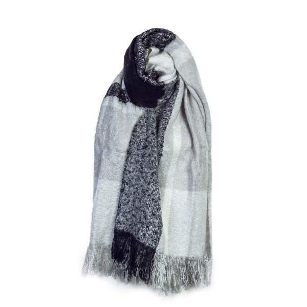 Only Scarf Cloud Danger  Navy Grey Melan