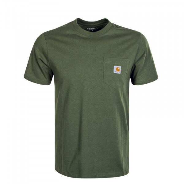 Herren T-Shirt Pocket Dollar Green