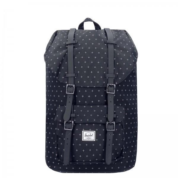 Herschel Backpack Lit America Black Grid