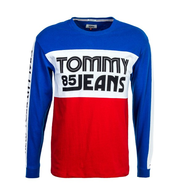 Tommy LS Colorblock Royal Red
