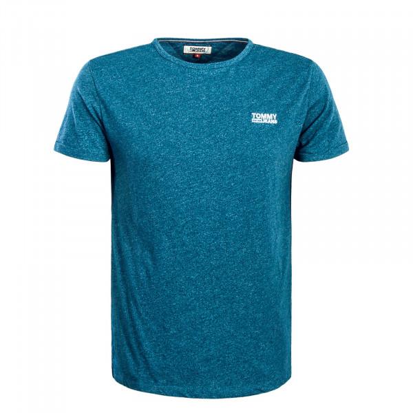 Herren T-Shirt TJM Modern Jaspe Saxone Blue