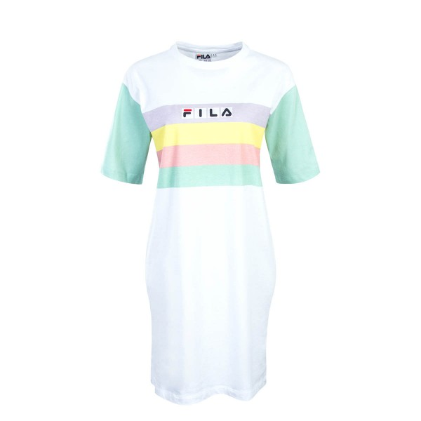 Fila Wmn Dress Jasmine White Lichen