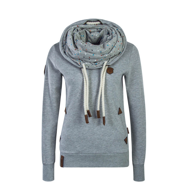 Naketano Wmn Sweat  Angebotsladen Grey