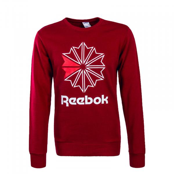 Reebok Sweat  AC FT Big Starcrest Red
