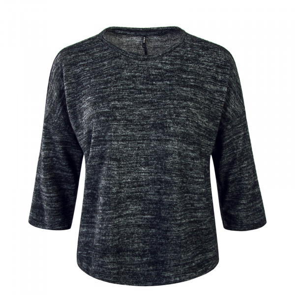 Damen Longsleeve Billa Dark Grey Melange