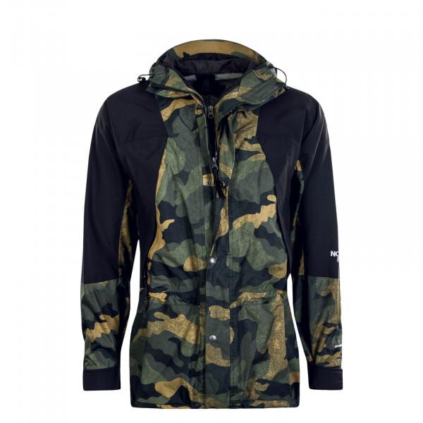 Herren Jacke 94 Retro Black Camouflage