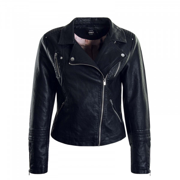 Damenjacke Leather Biker Gemma Faux Black