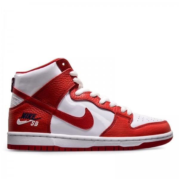 Nike SB Zoom Dunk High Pro White Red