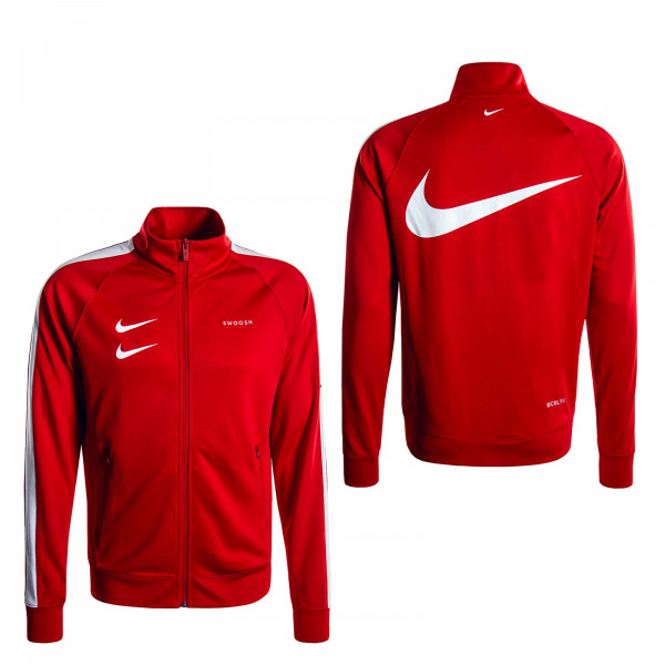 Herren Trainingsjacke Swoosh 4884 Red White