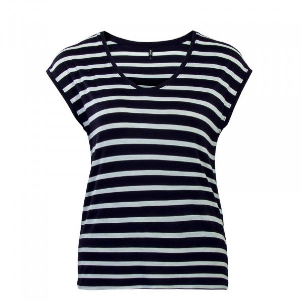 Top Wilma Stripe Navy White