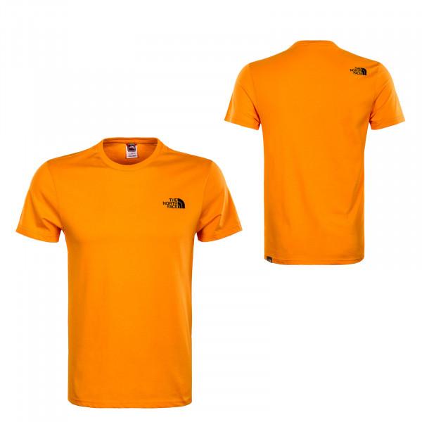 Herren T-Shirt - Simple Dome - Exuberance Orange