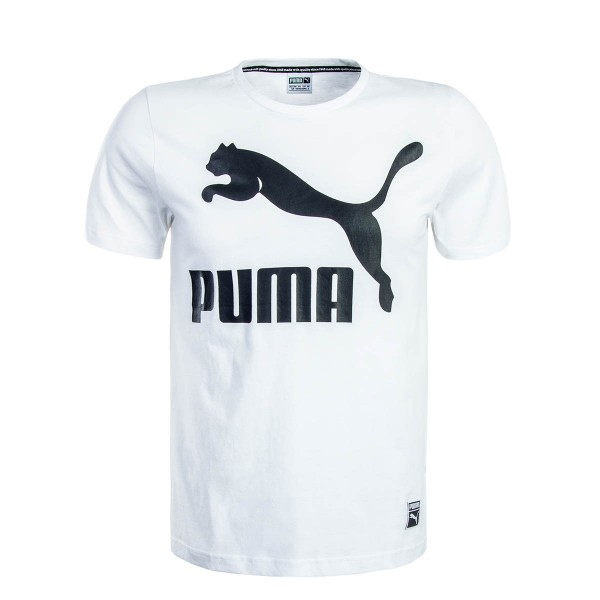 Puma TS Archive Logo White Black
