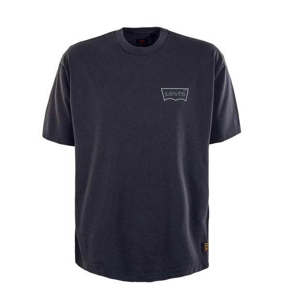 Herren T-Shirt - Skate Graphic Box LSC - Black