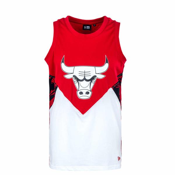 Herren Tank Top - NBA Oil Slick Tank Chicago Bull - Red