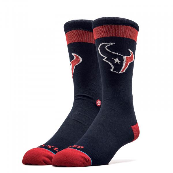Unisex Socken NFL Texans Battle Navy Red