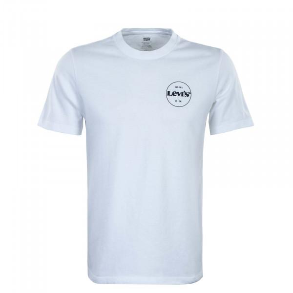 Herren T-Shirt - Relaxed Fit SSNL MV Logo 2 - White