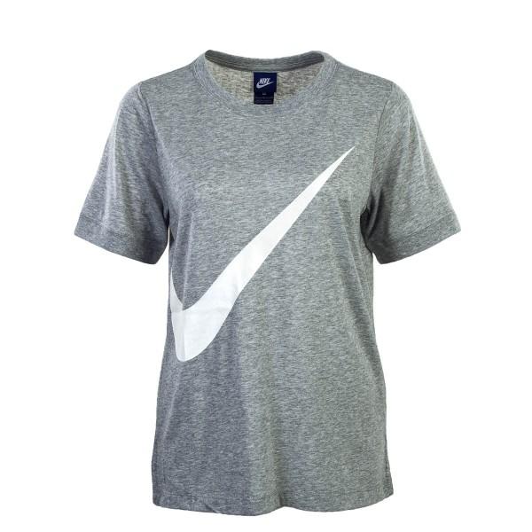 Nike Wmn TS NSW SS Prep Grey White