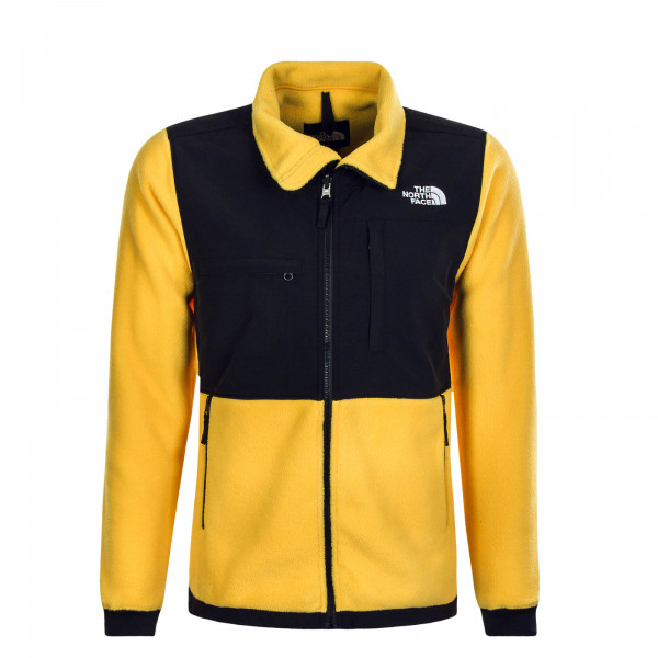 Herren Fleecejacke Denali Yellow Black