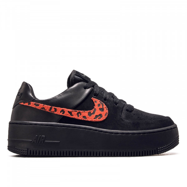 Nike Wmn Air Force 1 Sage Black Royal Re