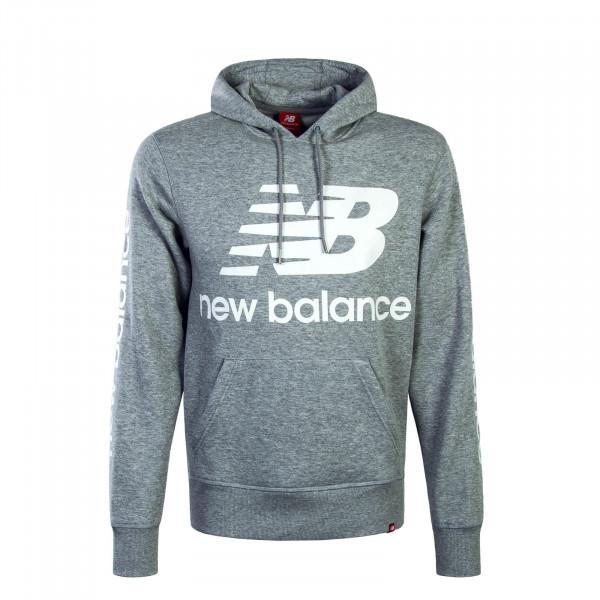 New Balance Hoody Logo Grey