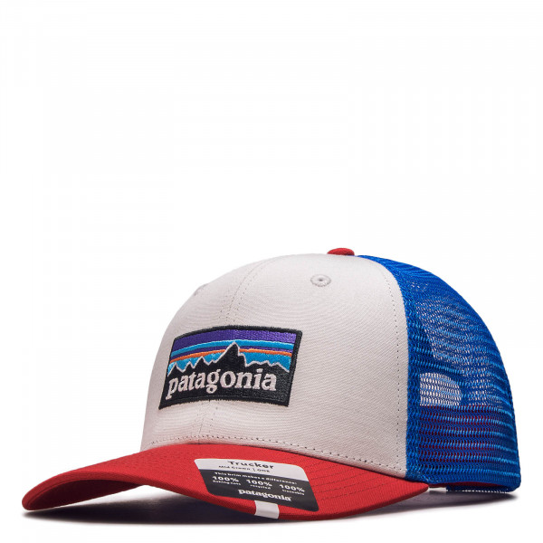 Cap Trucker P 6 Logo Red White Blue