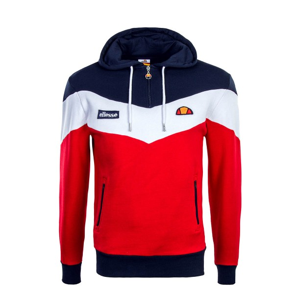 Ellesse Hoody Caserta Navy White Red