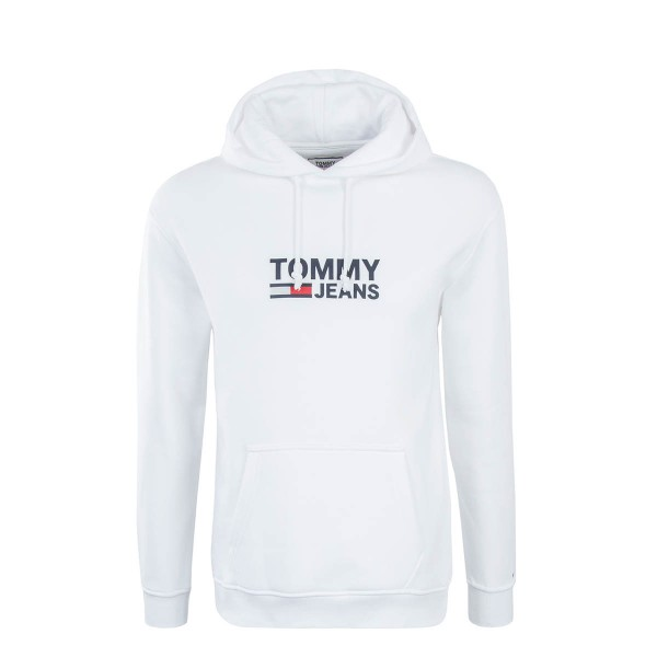 Tommy Hoody Corp Logo White