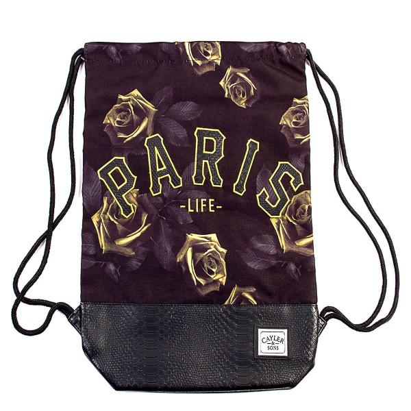 Cayler&Sons Gymbag Paris Jaune Black Yel