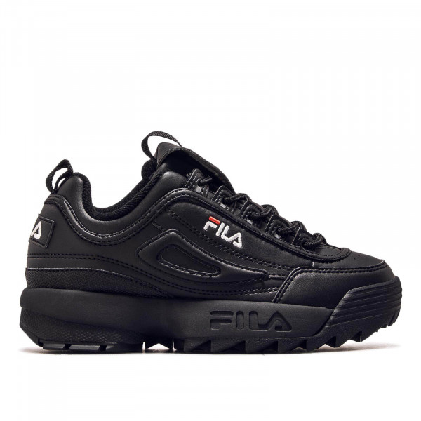 Fila Wmn Disruptor Low Black Black