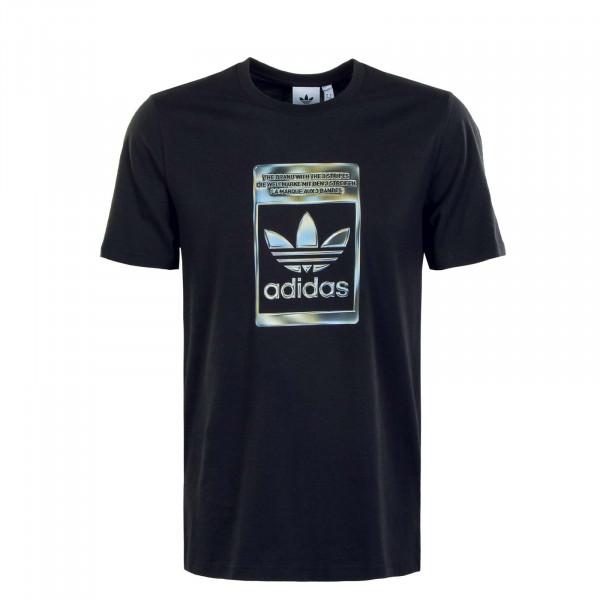 Herren T-Shirt - Camouflage Infill - Black