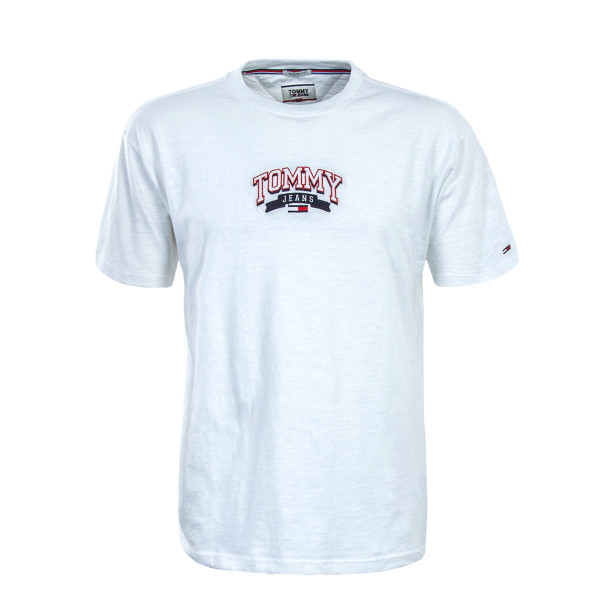Tommy TS College Embroide  White