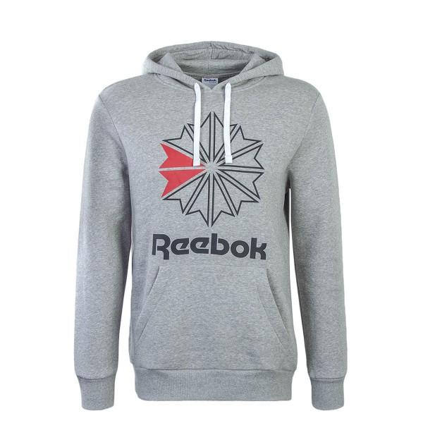Reebok Hoddy F Star Grey Black