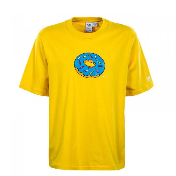 Herren T-Shirt - Simpsons Doh - Super Yellow