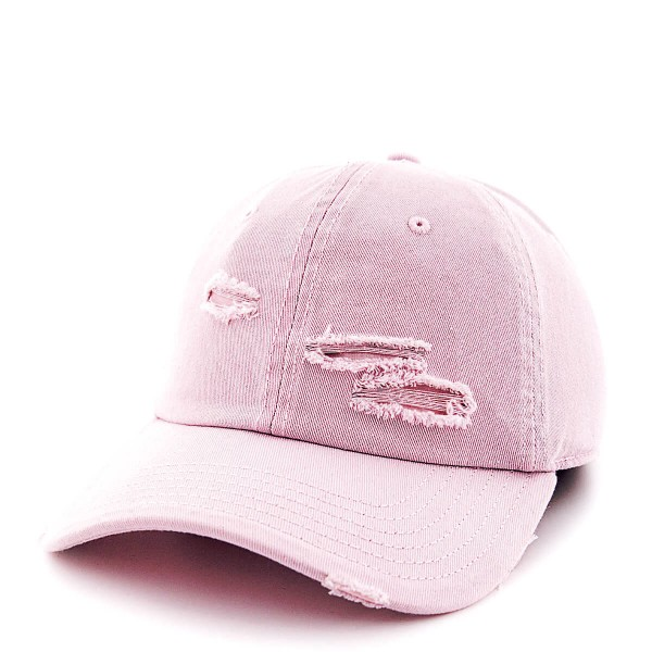Cayler&Sons Cap Curved Ripped Pink