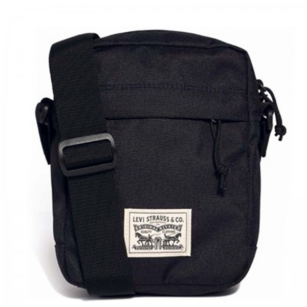 Levis Bag Transit Crossbody Small  Black