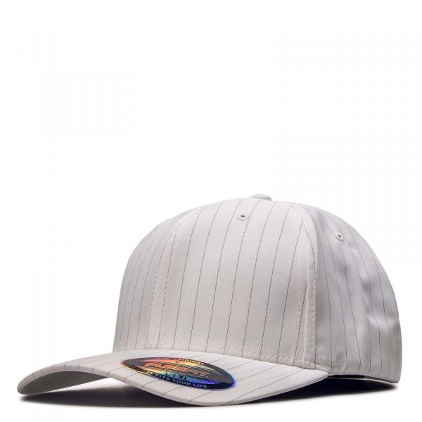 Cap Pin Stripe 6195 White