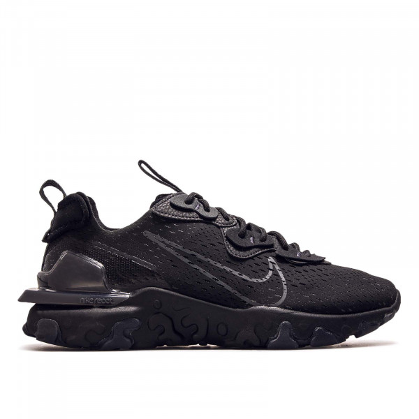 Herren Sneaker React Vision Black Anthrazit