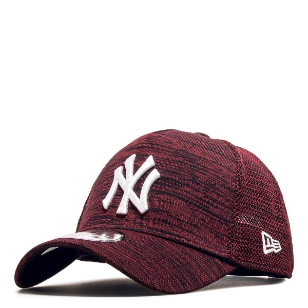 New Era Cap Engineered NY Bordo White