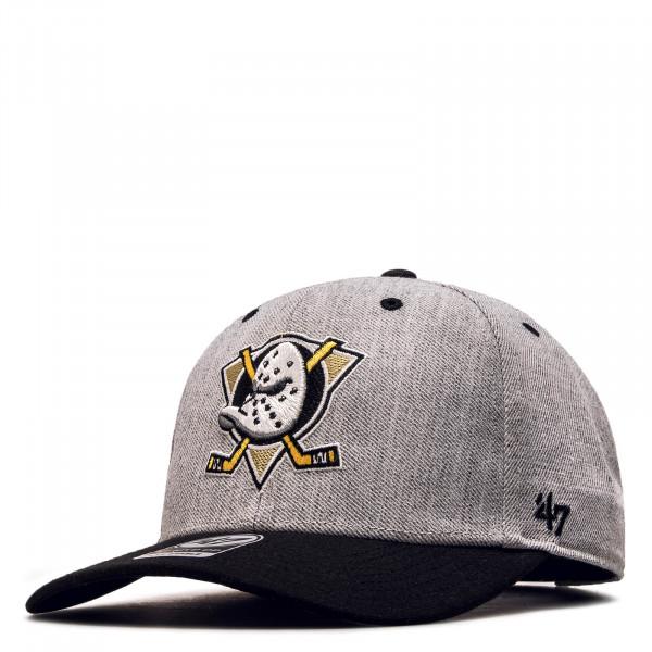 Cap Mighty Ducks Grey Black