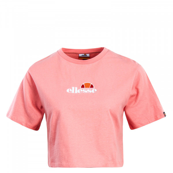Damen T-Shirt Crop Fireball Pink