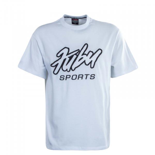 Herren T-Shirt Sports White Black