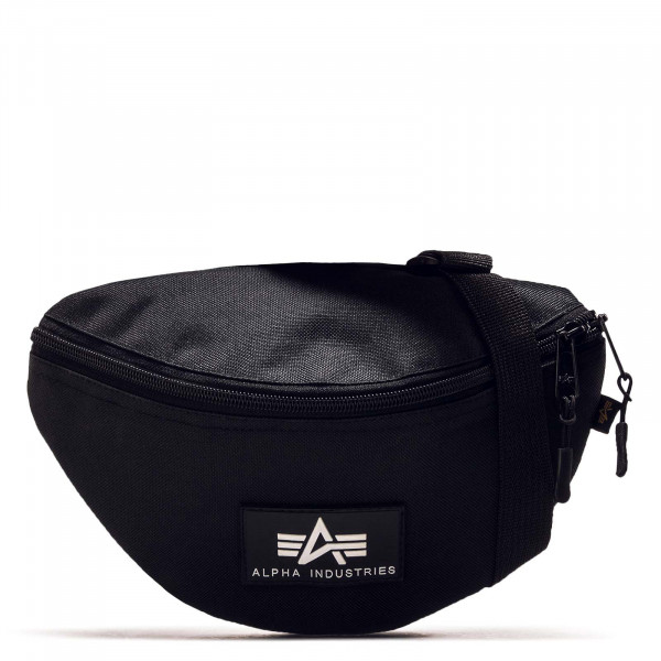 Hip Bag Rubber Print Black