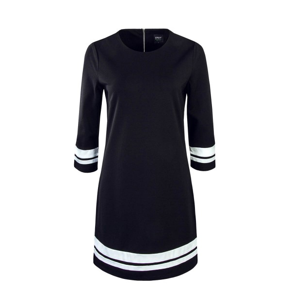 Only Dress Poptrash Easy Retro Blk Wht