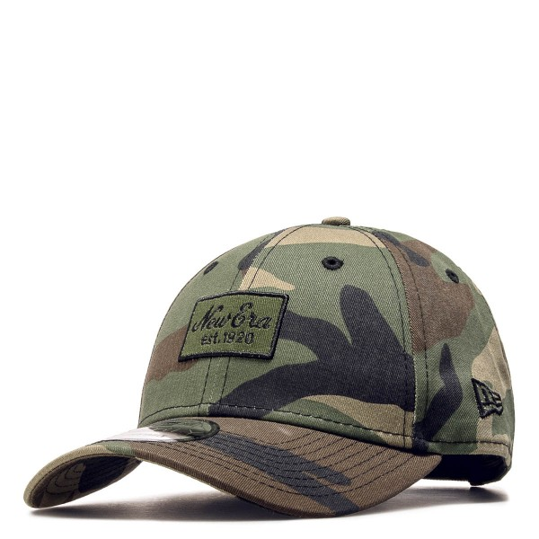New Era Cap 9Forty Script Patch Olive