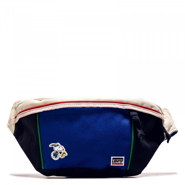 Sport Bag Snoopy Medium Banana Navy Blue